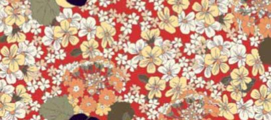 Tissus à motifs floraux imprimés